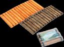 Дорожка садовая деревянная 40х90 см